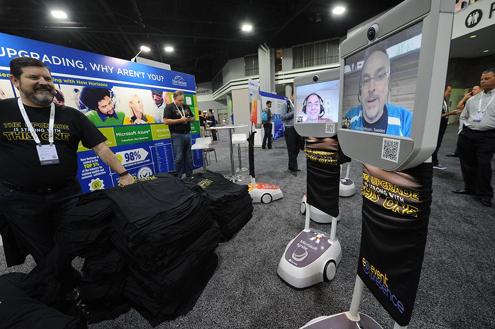 160927-ATLANTA- GA- Microsoft Ignite 2016 at the Georgia World Congress Center in Atlanta on September 27, 2016. (BECKY STEIN PHOTOGRAPHY)